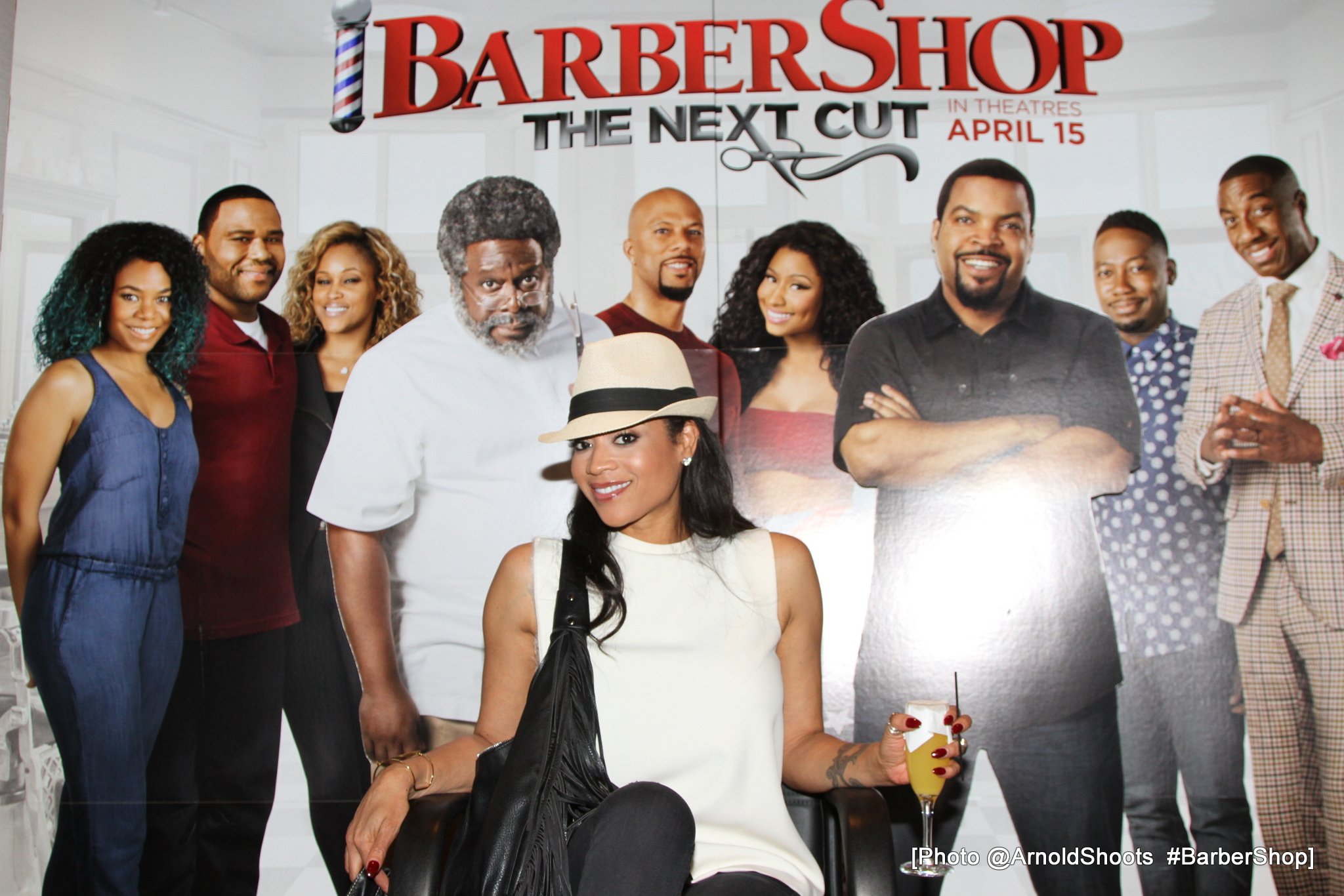 WEST HOLLYWOOD, CA - FEBRUARY 13: A general view at BarberShop The Next Cut Private Screening at The London Hotel on Saturday, February 13, 2016 in West Hollywood, California. (Photo by A Turner Archives)