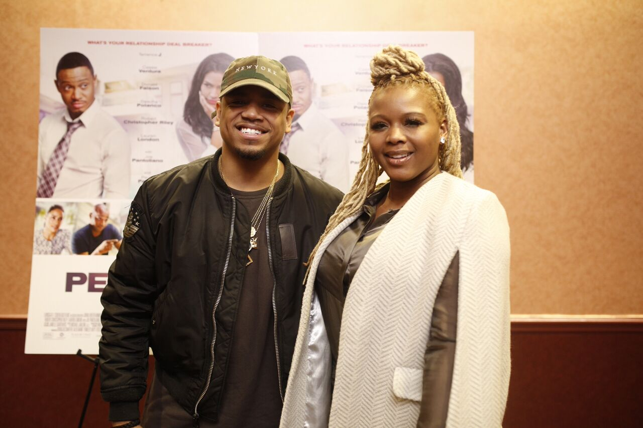 Mack Wilds and Fashion Bomb Daily's Claire Sulmers