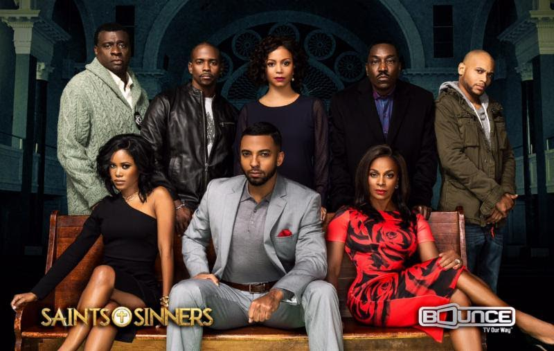 "The cast of ""Saints of Sinners"""