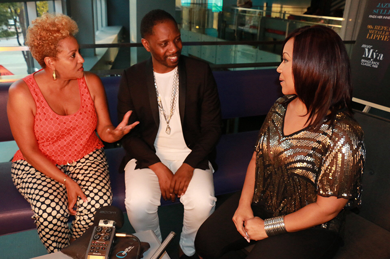 Publisher Kim Chapman, Editor in Chief Sammi Haynes and Erica Campbell