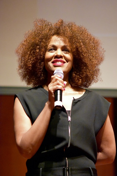 Producer & Director Brandi Mitchell discusses Point And Drive at screening