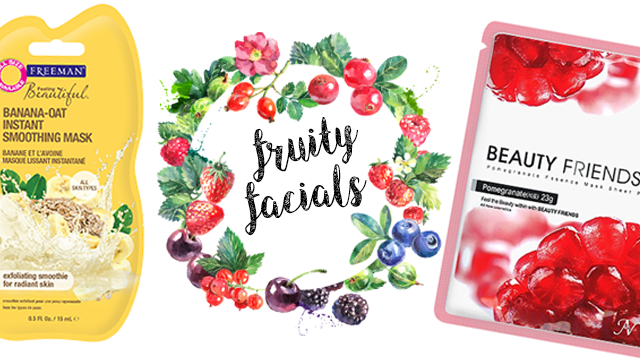 Beauty in a Food Mask: Fruity Facials