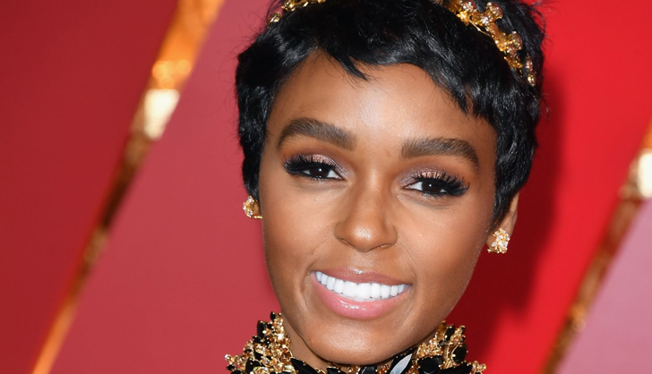 Janelle Monáe's New Super-Short Haircut Just Won The Oscars Red Carpet