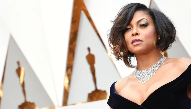 You Have to Zoom In to Notice This Glam Detail of Taraji P. Henson's Oscars Look