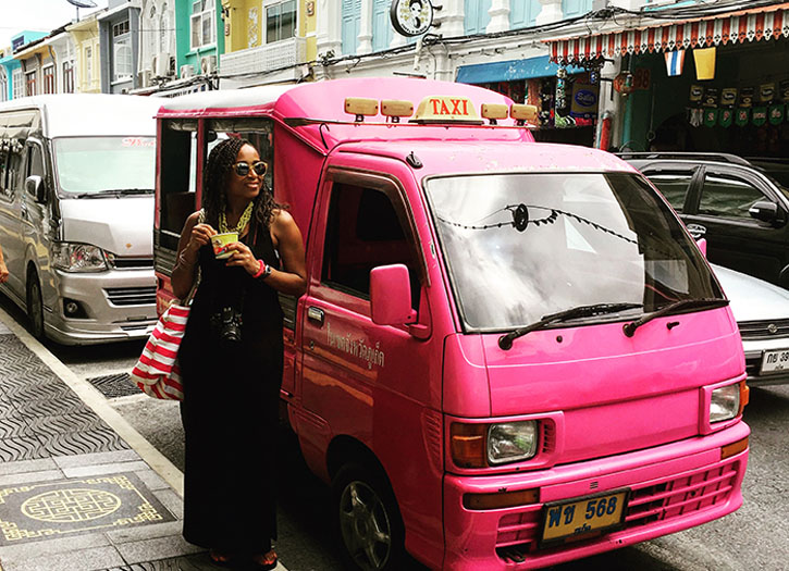 Living The Sophisticated Life with Travel Blogger, Nadeen White