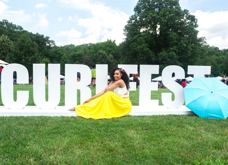 Curly Girl Collective Hosts Curlfest in Brooklyn