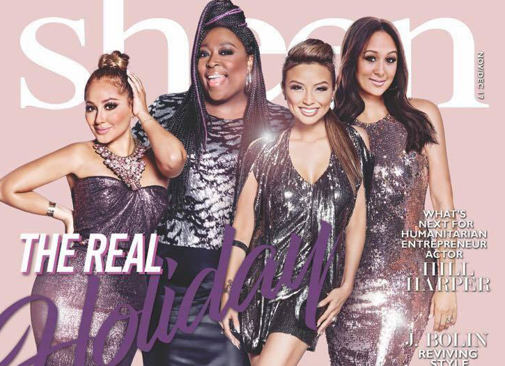 Sheen Magazine – The Real Co-Hosts: Adrienne Houghton ...