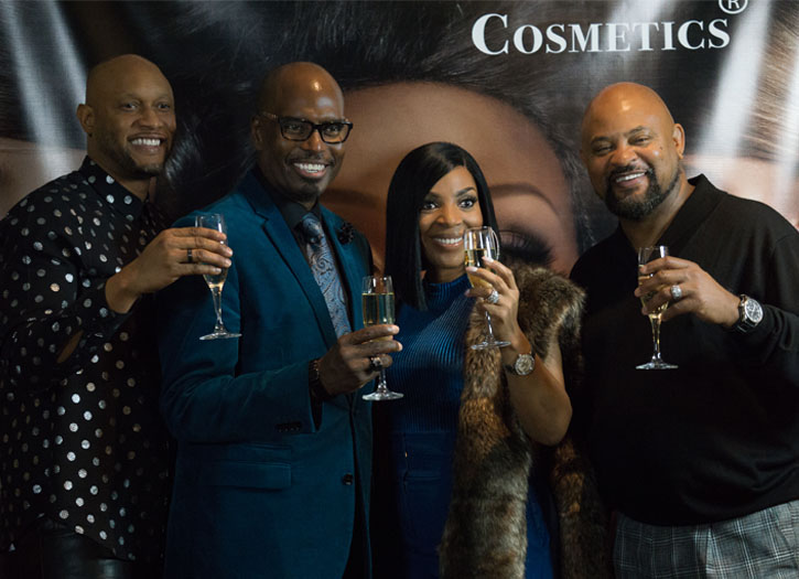 Colour U Cosmetics Official Debut at the Marriott Marquis Hotel Spa