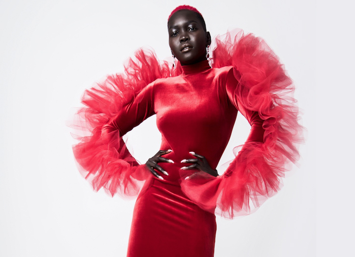 The Queen of Dark, Nyakim Gatwech Discusses Life in a Refugee Camp & How Bullying Allowed Her to Love Herself