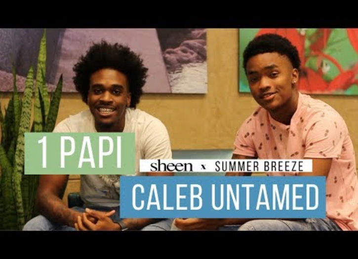 Young Music Sensations, 1 Papi & Caleb Untamed Talk Reaching the Youth!