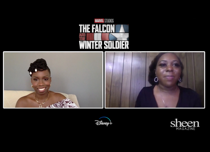'The Falcon & The Winter Soldier' Star, Adepero Oduye | SHEEN Exclusive