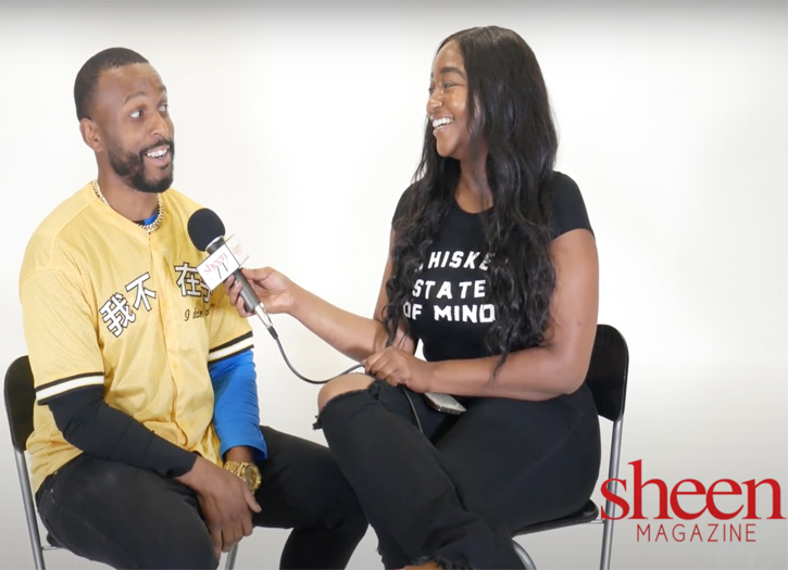 Tyree Spivey Sits Down with Us For a SHEEN Exclusive Interview